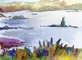 Connemara 13cm x 17cm Watercolour